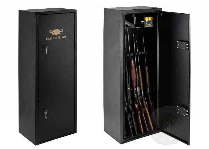 buffalo river armoire forte 10 armes avec lunettes. Black Bedroom Furniture Sets. Home Design Ideas