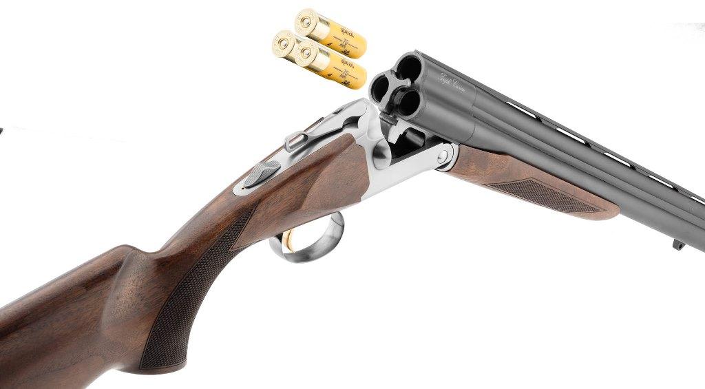 fusil à 3 canons calibre 12-76 et 20-76